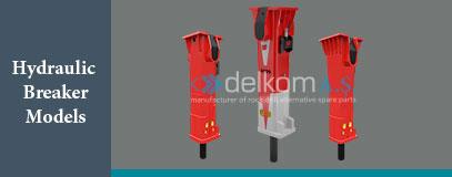 Hydraulic Breaker Models sandvik