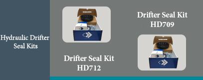 HD709 HD712 HYDRAULIC DRIFTER SEAL KIT